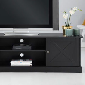 TV-möbel svart