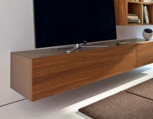 Vägghängd TV-möbel